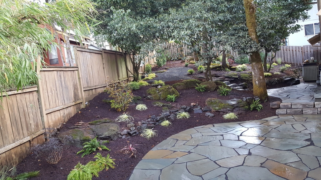 Backyard Landscaping Patio Design