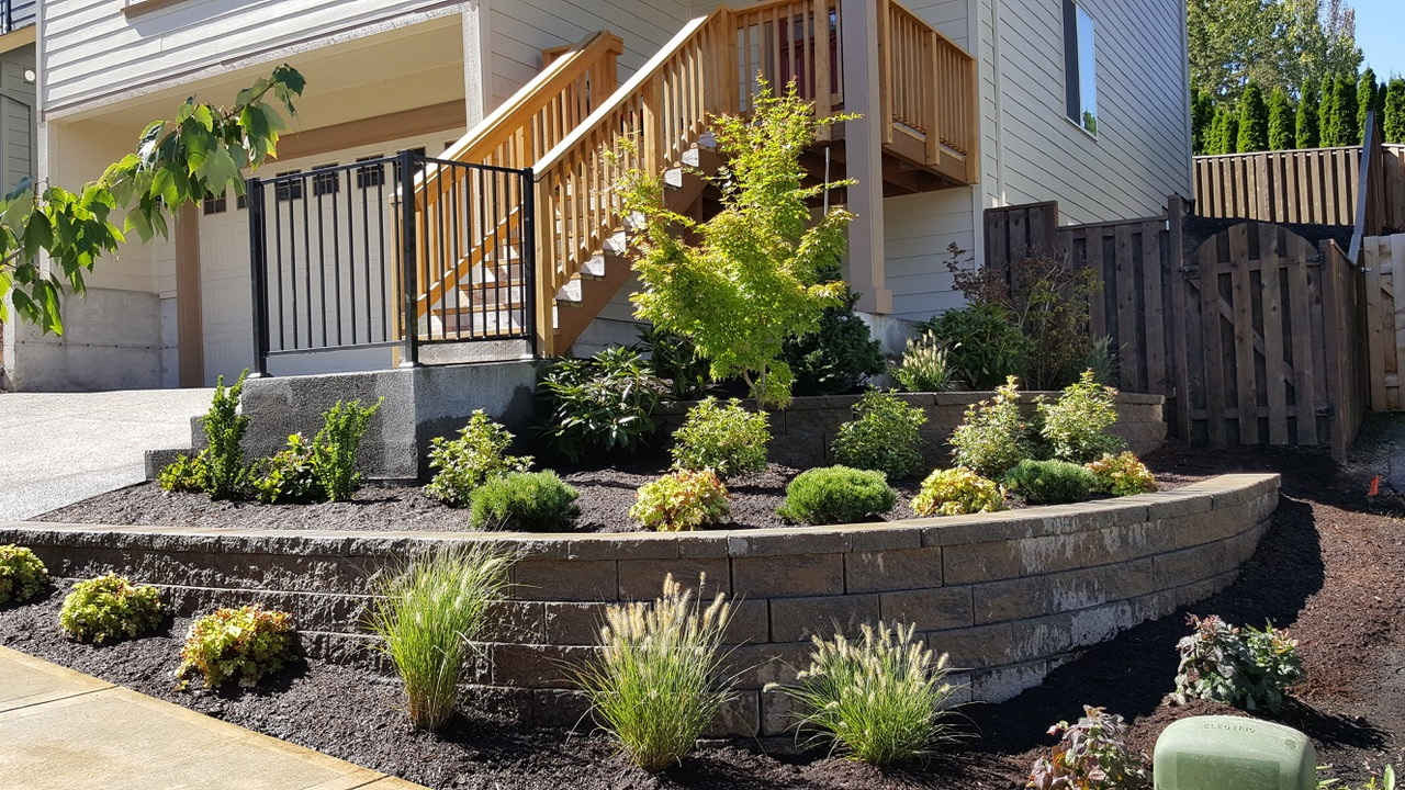 Stonework And Walls Portland Oregon Landscaping