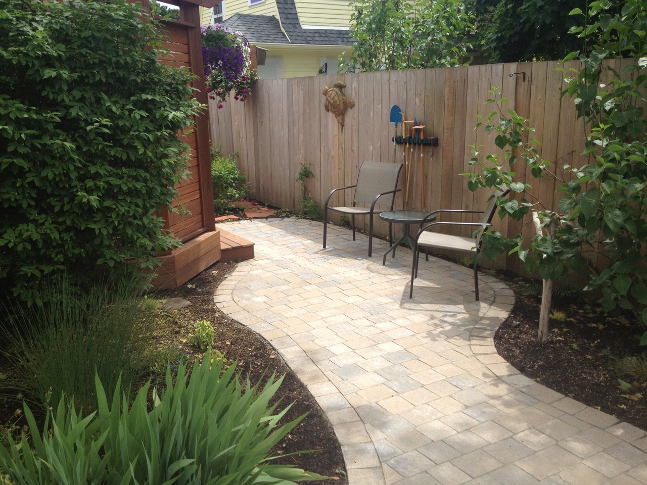 garden stone pathway design portland or