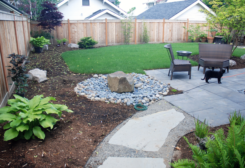 Water features and ponds portland oregon landscaping for Patio water features