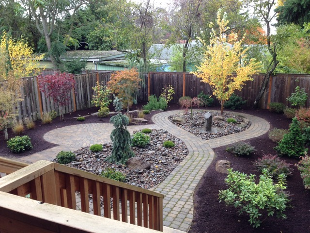 Looping Pathway Landscape Design Portland Oregon